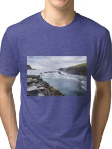 Forest Island Fall Nature Fine Art Photography 0039 Tri-blend T-Shirt