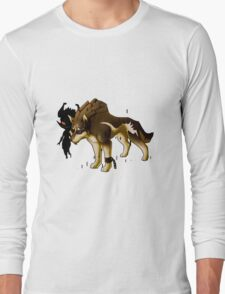 Link and Midna  Long Sleeve T-Shirt