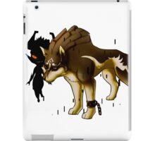Link and Midna  iPad Case/Skin