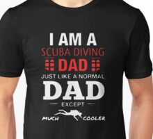 Scuba Diving Dad Unisex T-Shirt