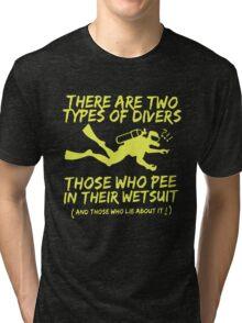 Scuba Diving T-Shirt Tri-blend T-Shirt