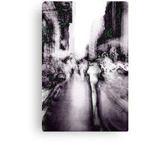 Shadows of New York Canvas Print