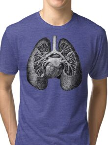 I Bare My Heart and Lungs For You Tri-blend T-Shirt