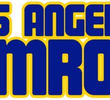 Ram Rods Podcast 1970s Logo T-Shirt Sticker