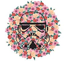 Flower Trooper Photographic Print