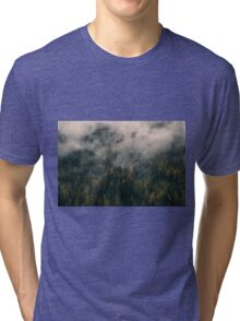Smoky Mountain Forest Nature Fine Art Photography 0043 Tri-blend T-Shirt