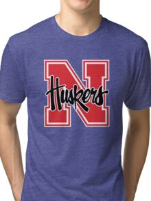 Huskers Nebraska Tri-blend T-Shirt