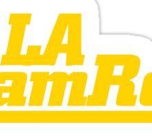 LA Ram Rods Podcast Modern Logo Sticker