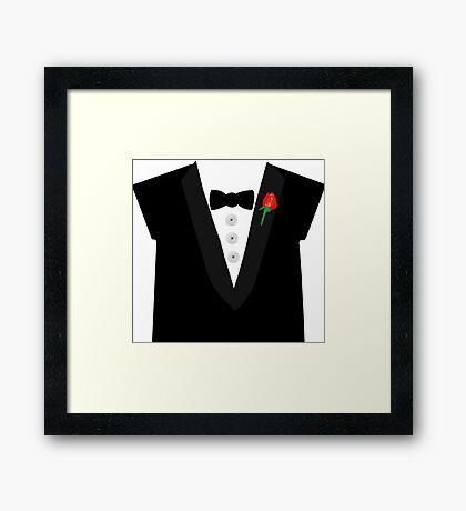 A Tuxedo For Everything Framed Print