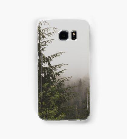 Foggy Pine Forest Nature Fine Art Photography 0050 Samsung Galaxy Case/Skin