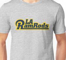 LA Ram Rods Podcast Modern Logo - Modern Blue Unisex T-Shirt
