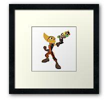 Ratchet With Blaster Framed Print