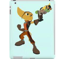 Ratchet With Blaster iPad Case/Skin