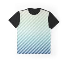 Daytime Fade | White Stripes Graphic T-Shirt