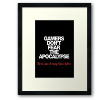 Gaming design Framed Print