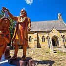 St John Baptist Church Buckland Tasmania by Doug Cliff