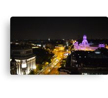 Rooftop views Madrid Canvas Print