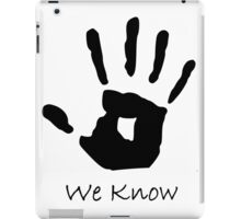 Skyrim Dark-brotherhood Black hand (BoW) iPad Case/Skin