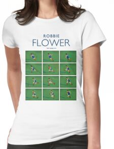 Robbie Flower, Melbourne (white shirt) Womens Fitted T-Shirt