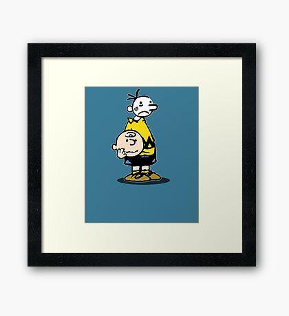 Wimpy Chuck Framed Print