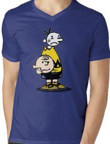 Wimpy Chuck Mens V-Neck T-Shirt