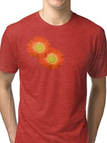 Daisy - Orange and Yellow Tri-blend T-Shirt