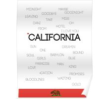 California ♪ Poster