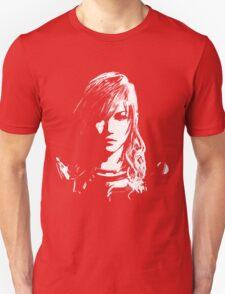 Final Fantasy XIII Lightning - Black and White Unisex T-Shirt