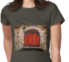 On Broadway(The Golden Theatre-NYC) Womens Fitted T-Shirt