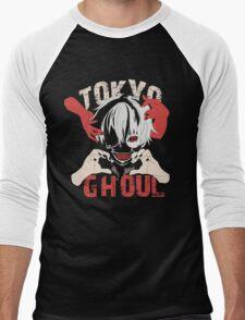 Tokyo Ghoul (Ken Kaneki), Anime Men's Baseball ¾ T-Shirt