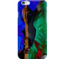 Blue Green 4 Way  iPhone Case/Skin