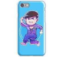 Jumpsuit matsu - Karamatsu iPhone Case/Skin