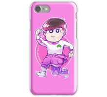 Jumpsuit matsu - Todomatsu iPhone Case/Skin