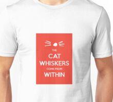cat whiskers Unisex T-Shirt