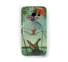 Haunted mansion umbrela  Samsung Galaxy Case/Skin