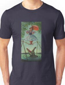 Haunted mansion umbrela  Unisex T-Shirt
