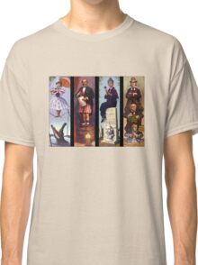 All characther haunted mansion Classic T-Shirt