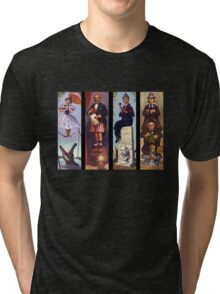 All characther haunted mansion Tri-blend T-Shirt