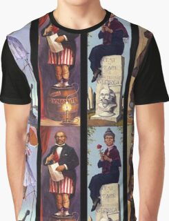 All characther haunted mansion Graphic T-Shirt