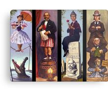 All characther haunted mansion Metal Print