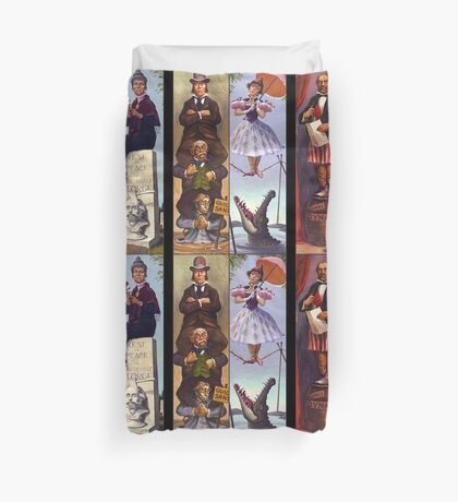 All characther haunted mansion Duvet Cover
