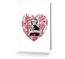 Andy Warhol Valentine Greeting Card