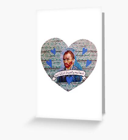 Van Gogh Valentine (Version 1) Greeting Card