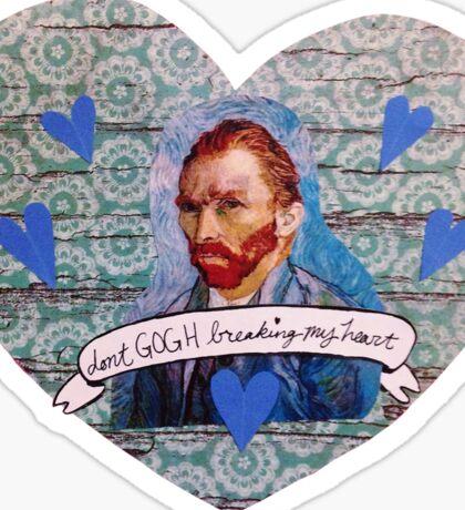 Van Gogh Valentine (Version 1) Sticker