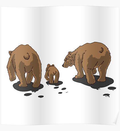 Bear Bums! Poster