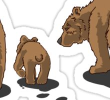 Bear Bums! Sticker