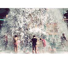 Making a splash Photographic Print