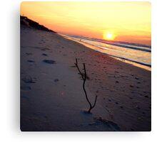 Ahhh, beachy morning Canvas Print