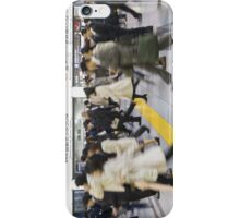 Japanese Hustle and Bustle iPhone Case/Skin