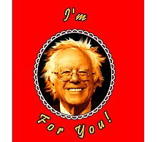 I'm Bernin' For You! (Red / Black) Photographic Print